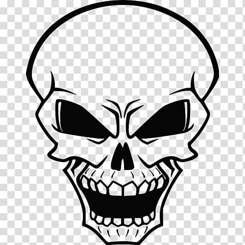 Skeleton faces clipart vector freeuse Human skull symbolism Evil, skull transparent background PNG ... vector freeuse