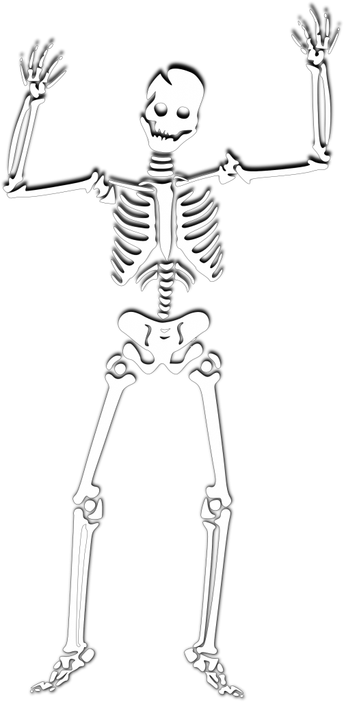Skeleton halloween clipart png library download Skeleton Free Halloween - Para Sublimar png library download