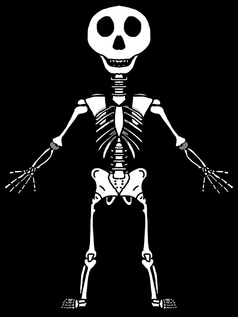 Skeleton halloween clipart svg freeuse stock Skeleton Clip Art For Kids – Fun for Christmas svg freeuse stock