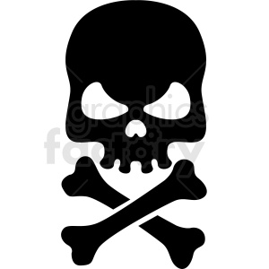 Skeleton head clipart free picture black and white download skull clipart - Royalty-Free Images | Graphics Factory picture black and white download