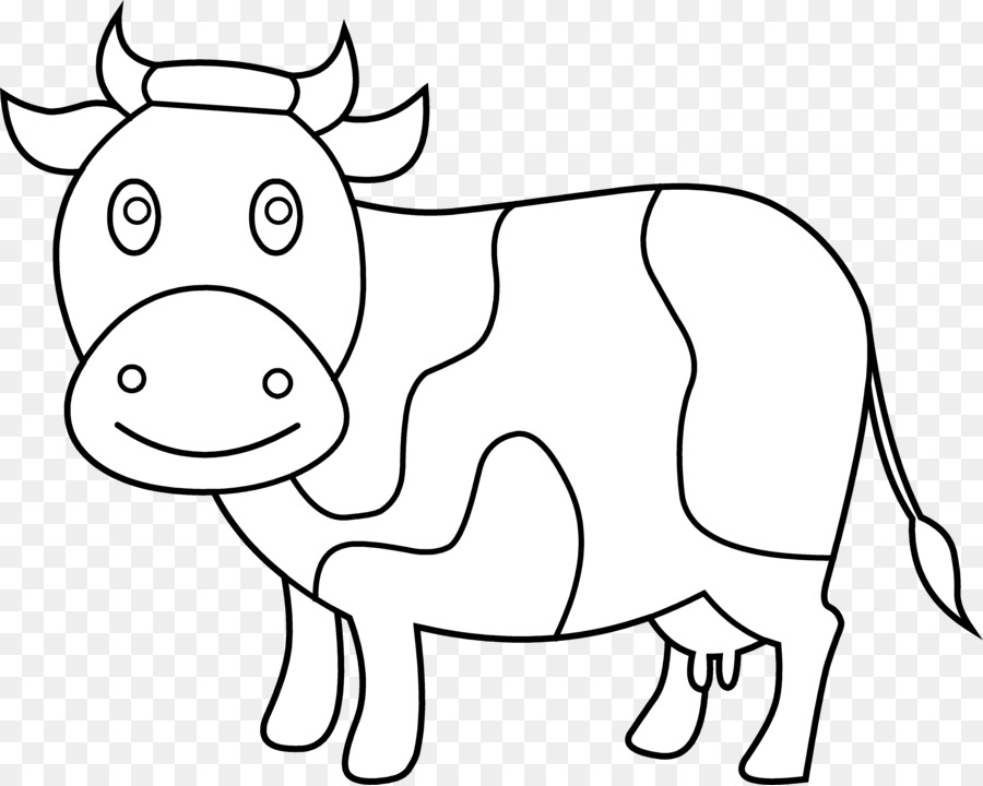 Sketch of cattle clipart clip freeuse Beef Cattle Line Art png download - 5053*4035 - Free ... clip freeuse