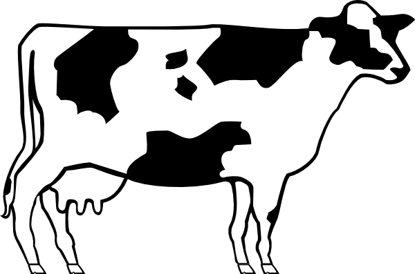 Sketch of cattle clipart vector free download Free Cow Drawing, Download Free Clip Art, Free Clip Art on ... vector free download