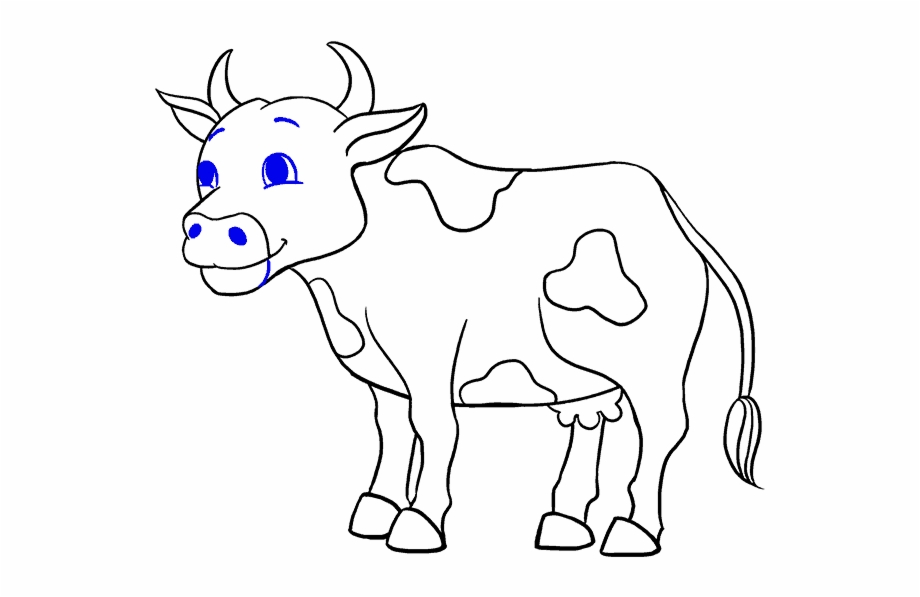 Sketch of cattle clipart graphic free download Jamestown Drawing Cow - Drawing Picture Of Cow Free PNG ... graphic free download