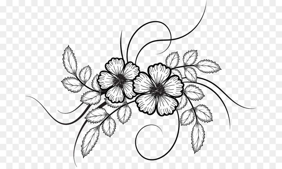 Sketched flowers clipart png freeuse stock Flower Sketch Images at PaintingValley.com | Explore ... png freeuse stock