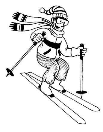 Ski down the mountain clipart black and white jpg freeuse download Free Ski Cliparts Black, Download Free Clip Art, Free Clip ... jpg freeuse download