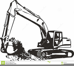 Skid stree images clipart svg black and white Free Skid Steer Clipart | Free Images at Clker.com - vector ... svg black and white