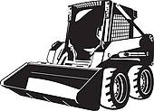 Skid stree images clipart png transparent library Skid steer clipart 2 » Clipart Station png transparent library