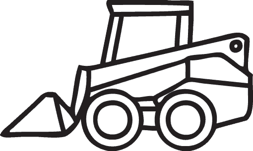 Skid stree images clipart vector library download Skid steer clipart clipart images gallery for free download ... vector library download