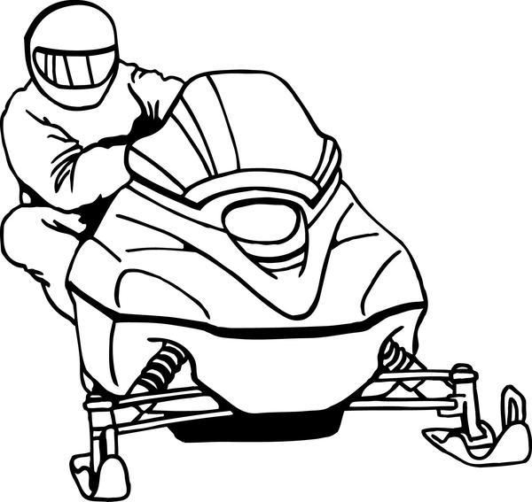 Snowmobile clipart clip black and white Free Snowmobile Cliparts, Download Free Clip Art, Free Clip ... clip black and white