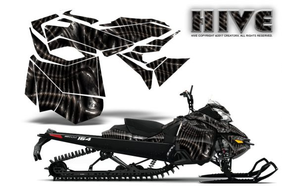 Skidoos clipart free of rights black and white clip art black and white library Ski-Doo Can-Am Rev XM 2013-2016 Graphics clip art black and white library