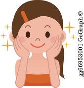 Skin beauty clipart banner stock Skin Clip Art - Royalty Free - GoGraph banner stock