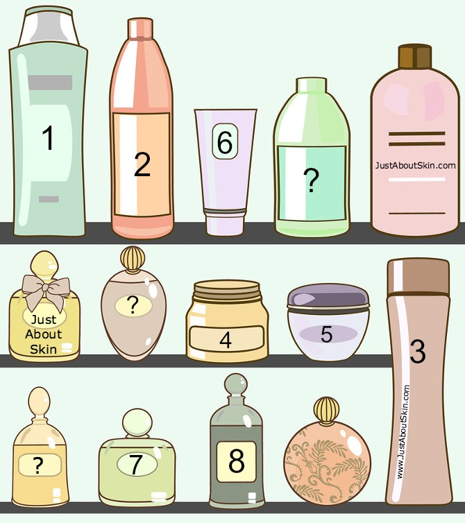Skin care products clipart clip art freeuse stock Layering Skin Care Products - What Goes On First? - Just ... clip art freeuse stock