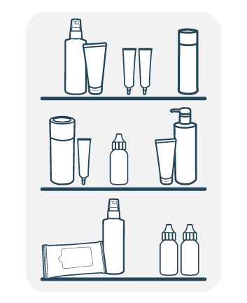 Skin care products clipart jpg freeuse library How To Store Skin Care Products | Dermalogica® jpg freeuse library