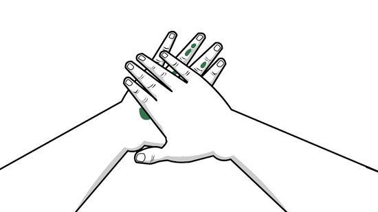 Skin clipart black and white jpg royalty free download 3 Ways to Remove Paint from Skin - wikiHow jpg royalty free download