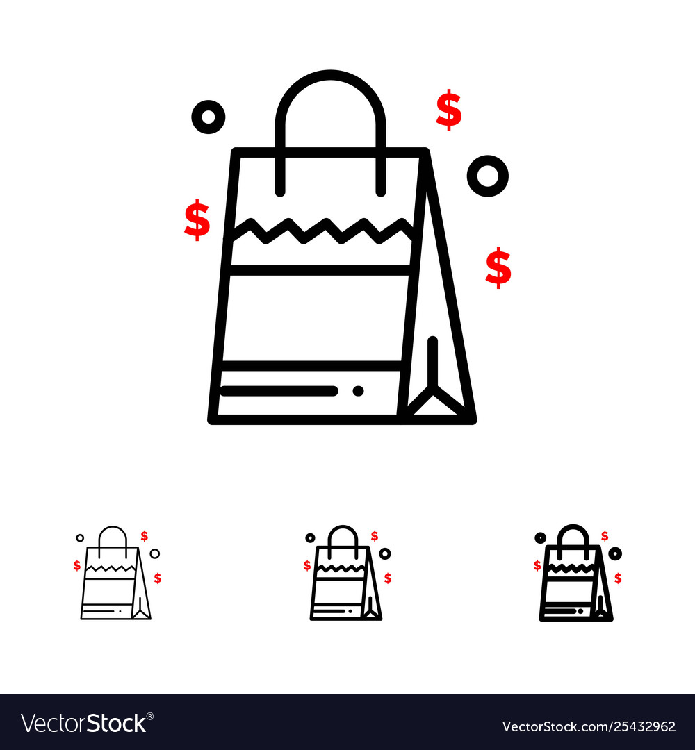 Skinny black line clipart svg free download Bag handbag usa american bold and thin black line svg free download