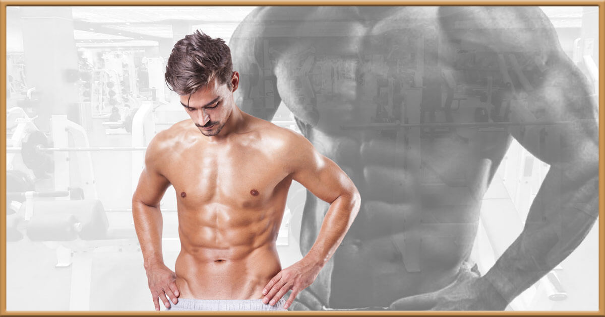 Skinny guy with muscles clipart banner stock How Skinny Guys Can Build Muscle – Even With a Rapid Metabolism banner stock