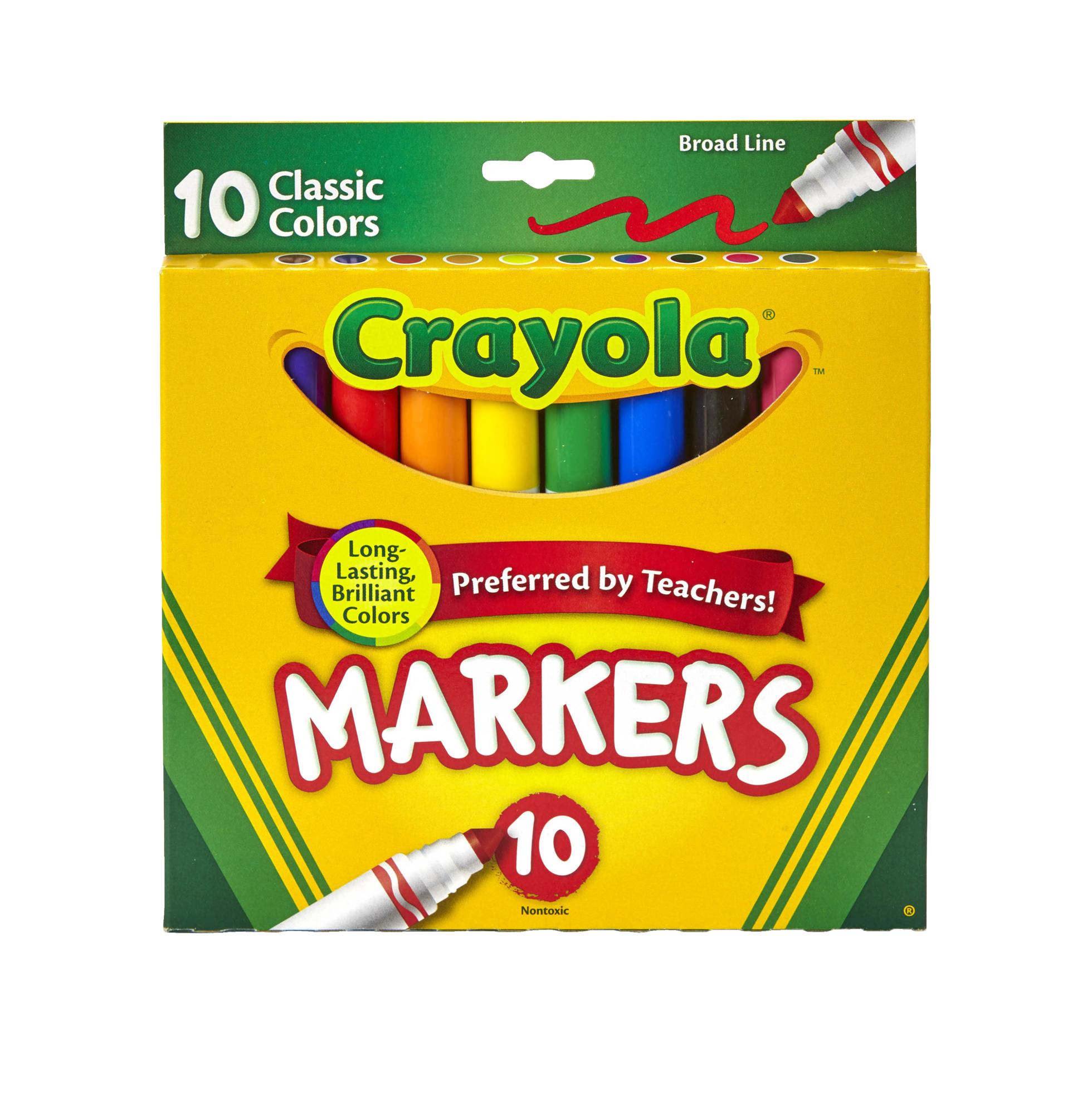 Skinny marcker clipart clip art free Crayola Thin Tip Markers - Walmart.com clip art free