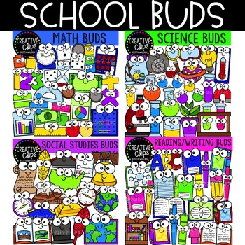Skinny thermometer money clipart png library School Subject Buds Bundle {Creative Clips Clipart} | TpT png library