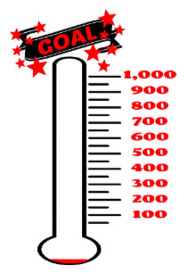 Skinny thermometer money clipart png transparent stock Goal Dry Erase Presentation Boards & Message Boards | Zazzle ... png transparent stock