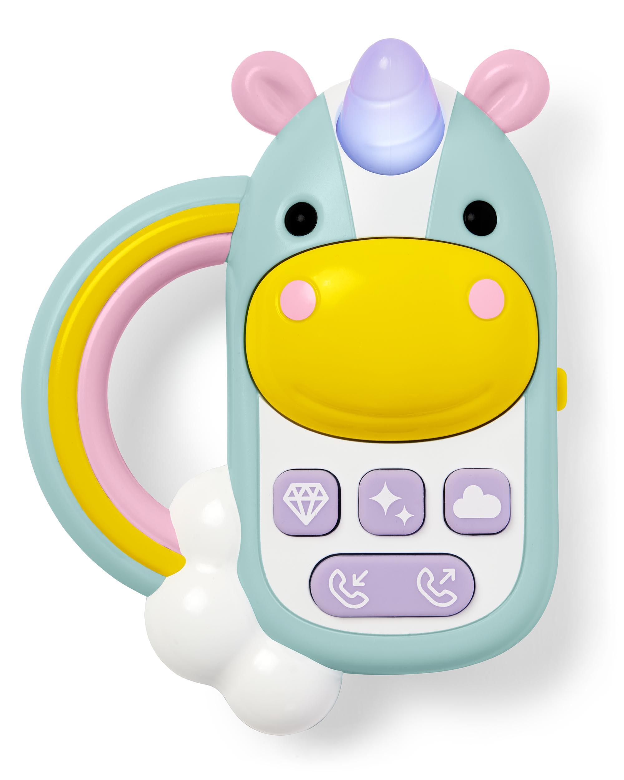 Skip hop logo clipart stock Zoo Unicorn Phone   skiphop.com stock