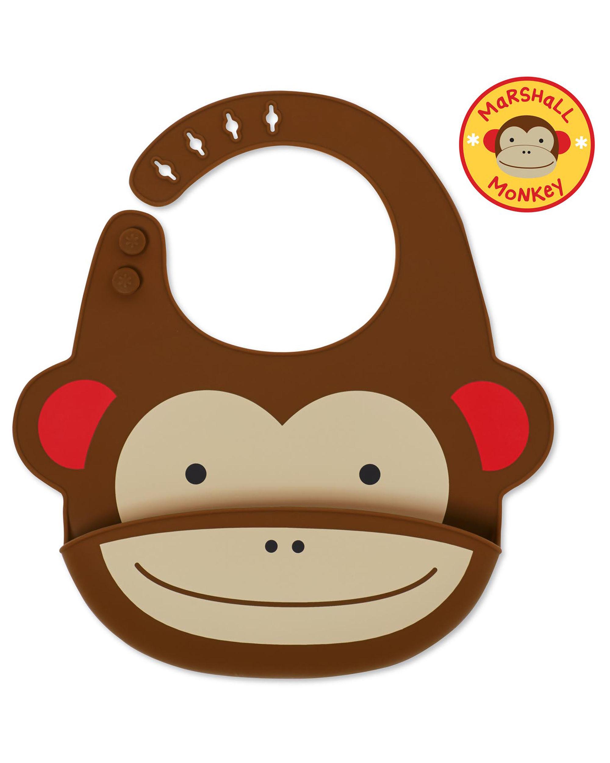 Skip hop logo clipart clip art royalty free Zoo Fold & Go Silicone Bib clip art royalty free