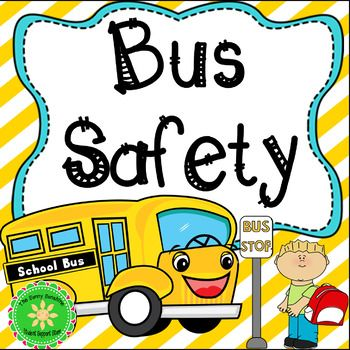 Skool bus behavior clipart svg black and white Bus Safety Social Narrative and Workbook | Education on the ... svg black and white