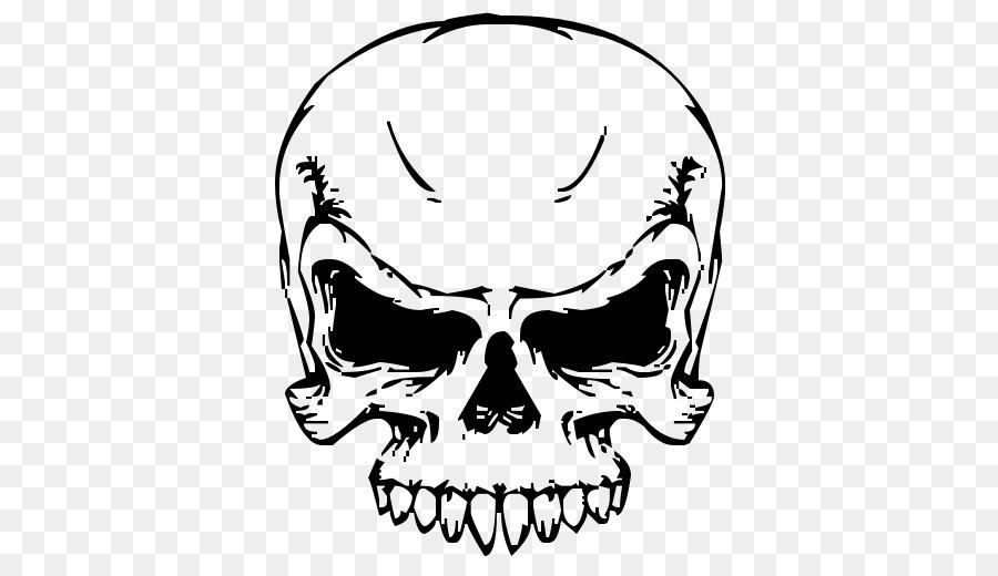 Skull art clipart clip black and white Skull Art clipart - Nose, transparent clip art clip black and white