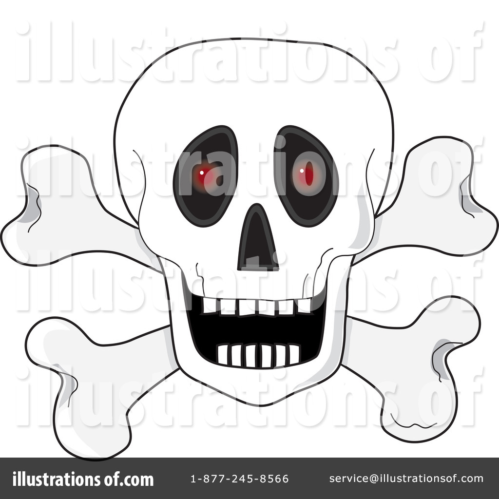 Skull bells clipart png free stock Skull Clipart #62153 - Illustration by Maria Bell png free stock
