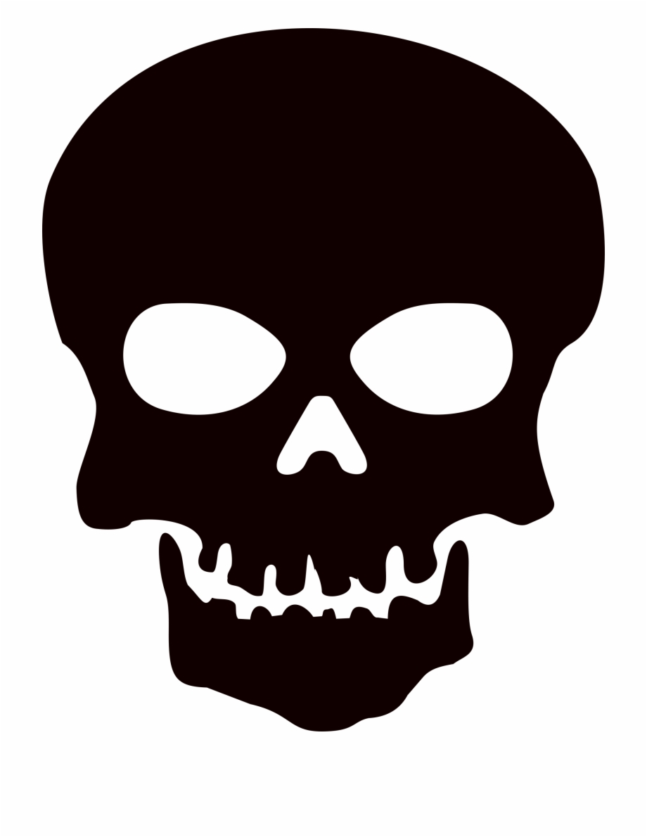 Skull clipart with clear background clip library download Black Skull Png Image With Transparent Background ... clip library download