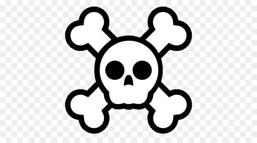 Skull comic clipart graphic freeuse Skull And Crossbones png download - 700*490 - Free ... graphic freeuse