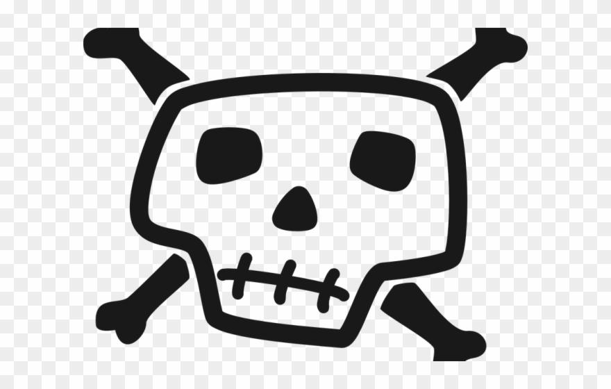Skull comic clipart jpg Danger Clipart Pirate Skull - Cartoon Skull Pic Png ... jpg