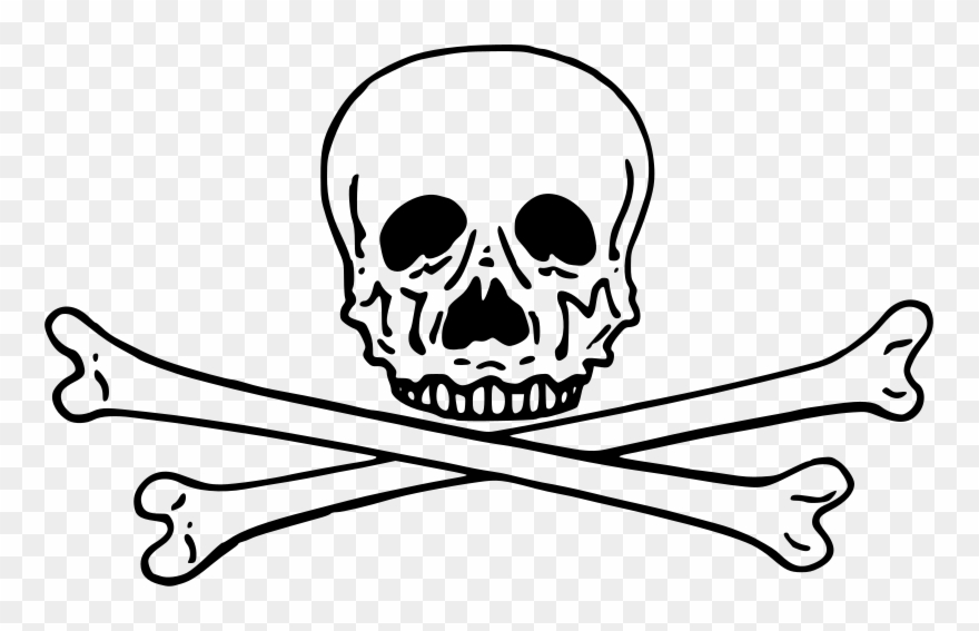 Skull drumsticks clipart picture royalty free library Crossbones Clipart Free For Download - Cross And Bones Png ... picture royalty free library