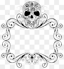 Skull frame clipart clip free download Skull clipart frame - 181 transparent clip arts, images and ... clip free download