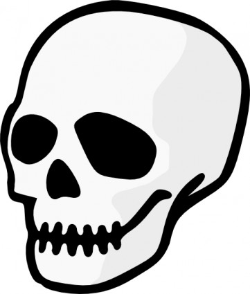 Skull art clipart graphic black and white library Skull clip art background free clipart images 4 - Cliparting.com graphic black and white library