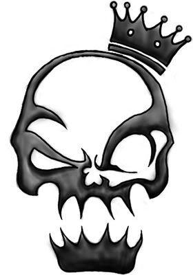 Skull tattoo clipart clip art library library skull tattoos,skull tattoo designs,tribal skulls | Tattoos ... clip art library library