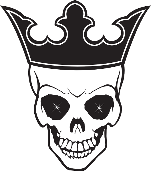 Skull with a king crown clipart clip art royalty free library skull with a crown sketch - Google Search   stuff to draw ... clip art royalty free library