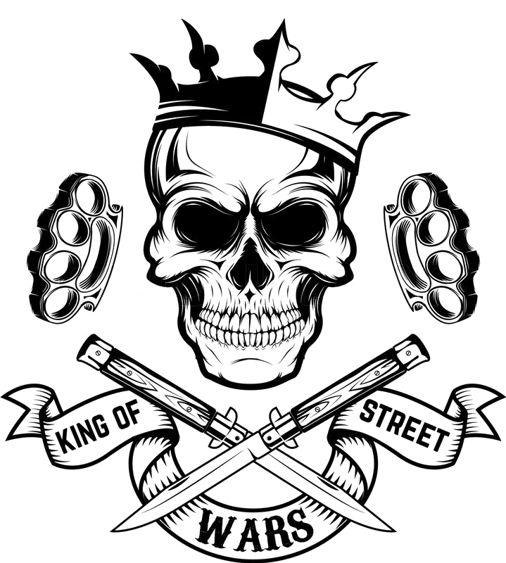 Skull with a king crown clipart picture library king skull crown street wars brassknuckles... picture library