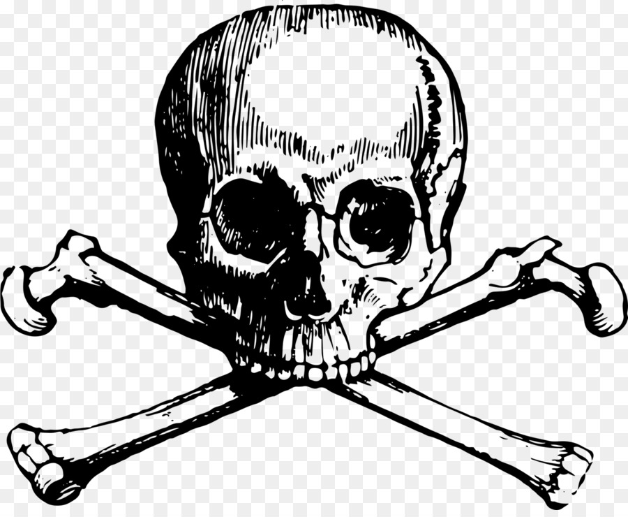 Skull with bones clipart clip art royalty free download Free Skull And Bones Transparent, Download Free Clip Art ... clip art royalty free download