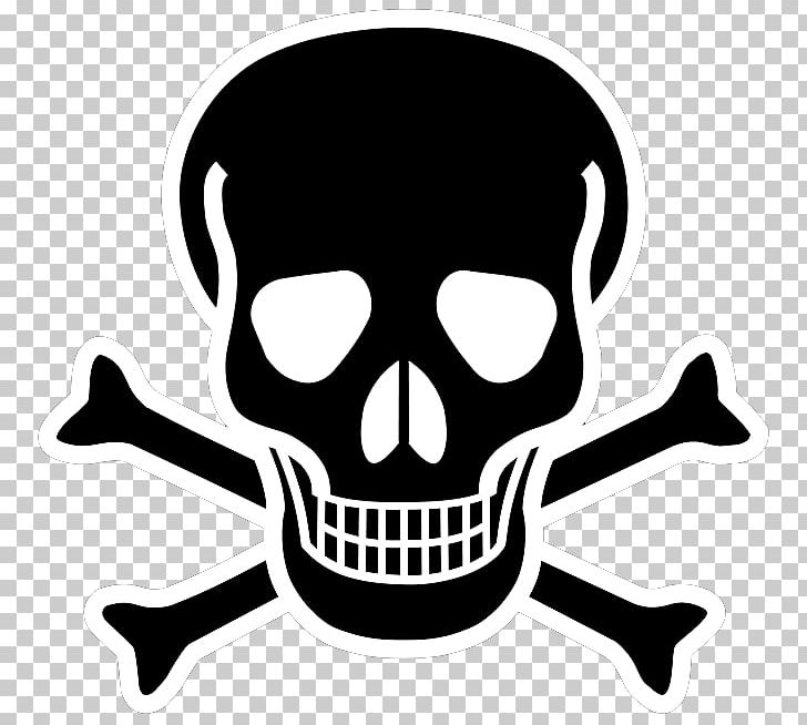 Skull with bones clipart png royalty free Skull And Crossbones Skull And Bones PNG, Clipart, Black And ... png royalty free