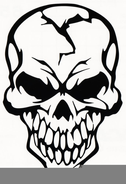 Skull with flames clipart banner library download Flaming Skulls Clipart | Free Images at Clker.com - vector ... banner library download