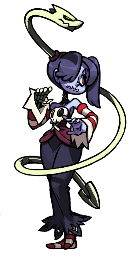 Skullgirls squigly clipart clip stock Squigly (Skullgirls), des. by Alex Ahad | Skullgirls ... clip stock