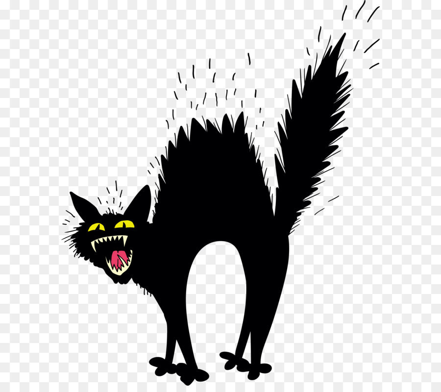 Skunk clipart scary