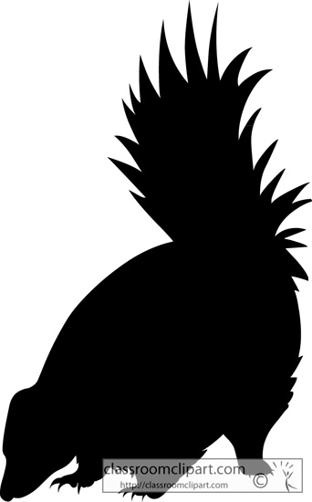 Skunk silhouette clipart banner royalty free library Skunk clipart skunk silhouette clipart classroom clipart ... banner royalty free library