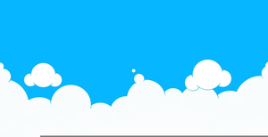 Sky clipart clouds svg black and white Clipart Clouds Sky | Free Images at Clker.com - vector clip ... svg black and white