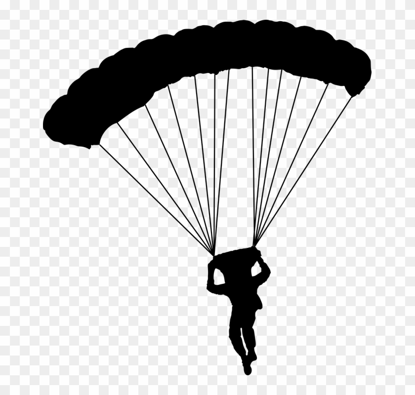 Sky diver clipart clip art royalty free stock Parachute Free Png Image - Sky Diver Clip Art, Transparent ... clip art royalty free stock