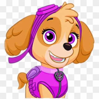 Skye paw patrol with paw prints clipart graphic library Paw Patrol Clipart PNG Images, Free Transparent Image ... graphic library