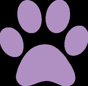 Skye paw patrol with paw prints clipart clipart free download Purple Paw Print | purple paw print clip art | Purple Paws ... clipart free download