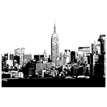 Skyline vector clipart clip art black and white download Free NEW YORK CITY SKYLINE VECTOR.epss Clipart and Vector ... clip art black and white download
