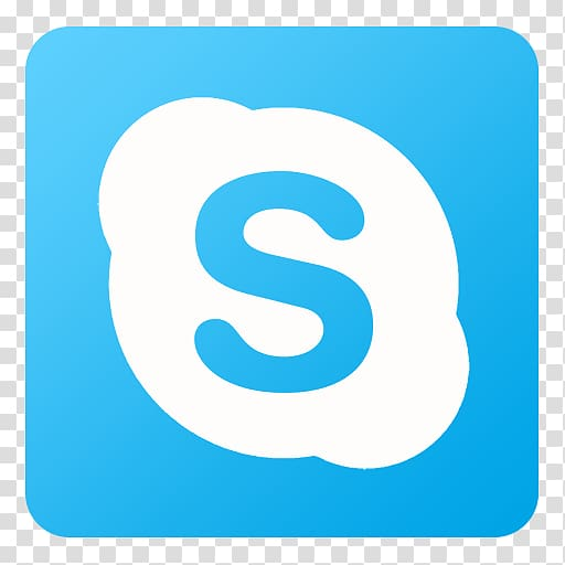 Skype icon clipart transparent banner black and white Skype icon, blue text symbol aqua number, Skype transparent ... banner black and white