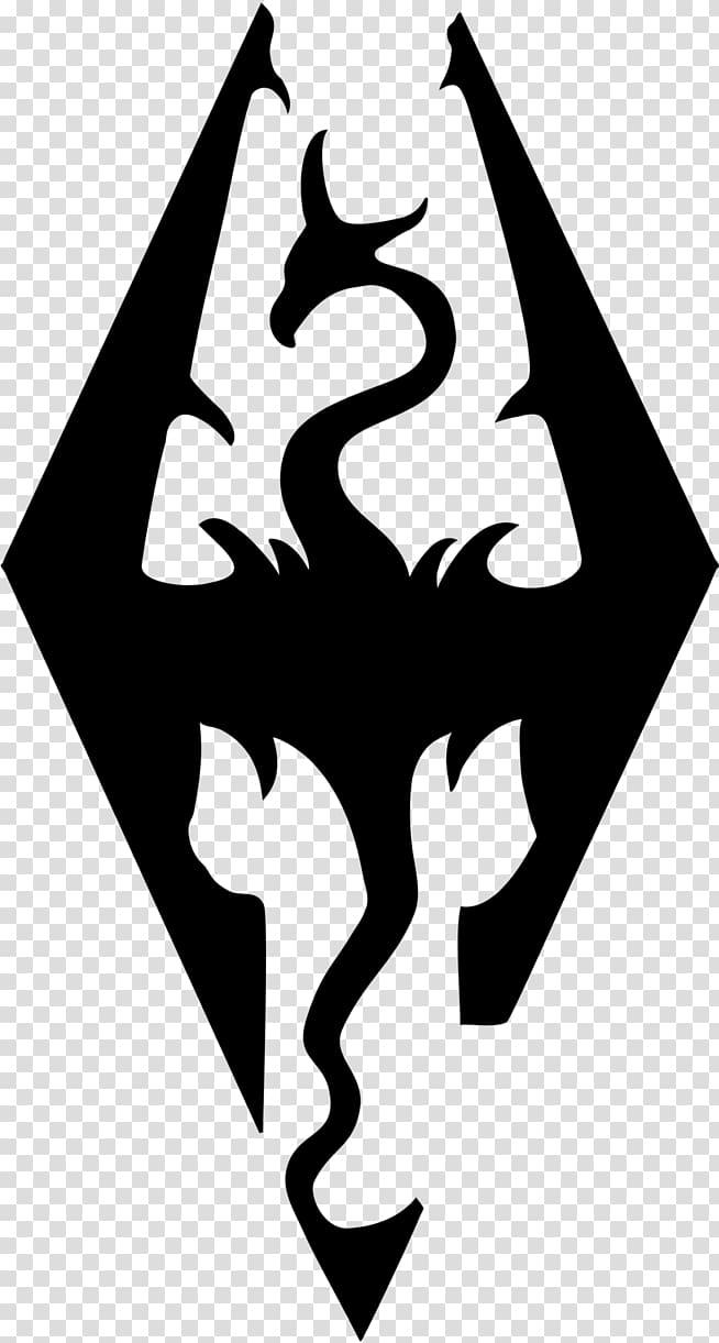Skyrim clipart clip The Elder Scrolls V: Skyrim Decal Logo Sticker Video game ... clip
